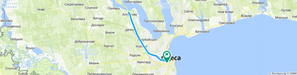 Slow ride in Одесса
