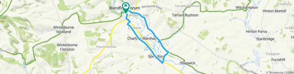 Blandford Forum Cycling