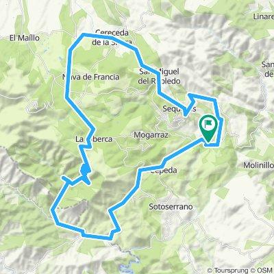 2020-1 opción -3 etapa-Miranda-Cepeda-Rebollosa-las batuecas-La Alberca-El Cabaco-Cereceda de la Sierra-Villanueva del Conde-Garcibuey-Miranda del castañar