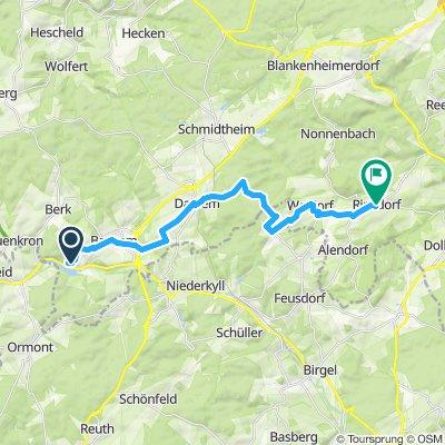 kronenburg nach ripsdorf