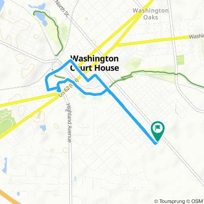 Slow ride in Washington Court House