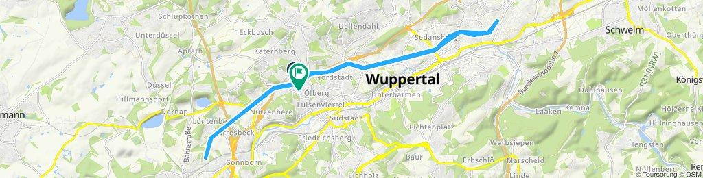 Wuppertal Radfahren
