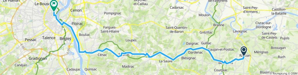 Rauzan to Bordeaux A-A