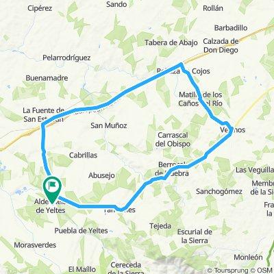 Ruta 7 Aldehuela de Y.