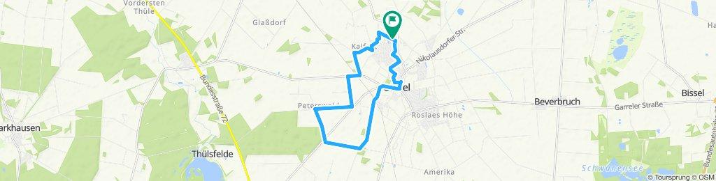 Moderate Route in Garrel