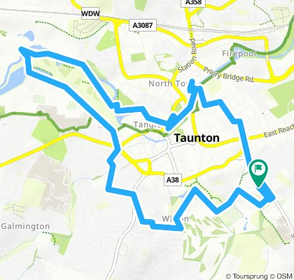 Steady ride in Taunton