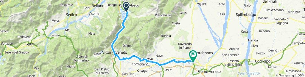 CVA 17: Farra d'Alpago-Vittorio Veneto-Pordenone