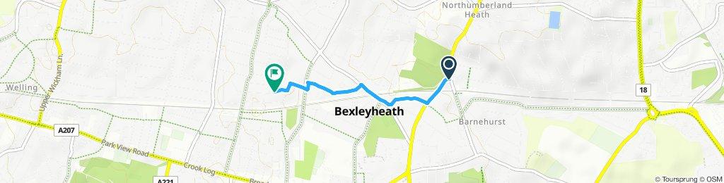 Steady ride in Bexleyheath