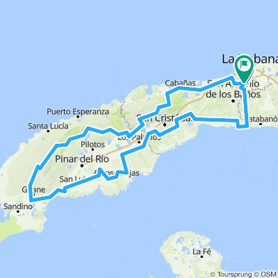 Cuba route option