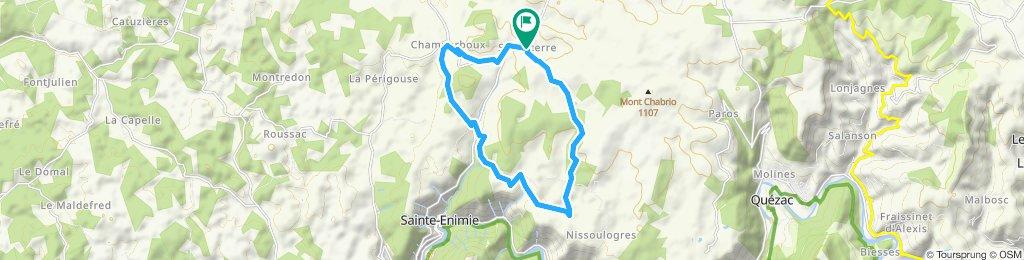 Dörfer der Causse de Sauveterre
