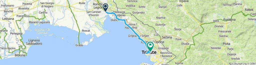 CVA 21: Monfalcone-Trieste