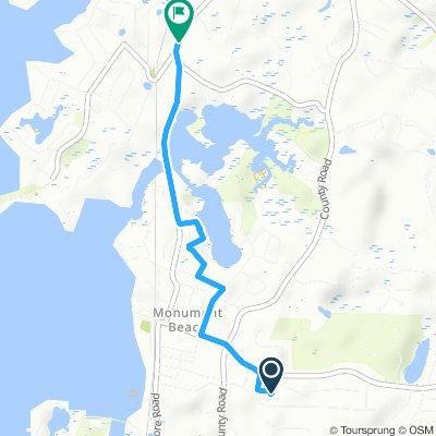 Easy ride in Buzzards Bay