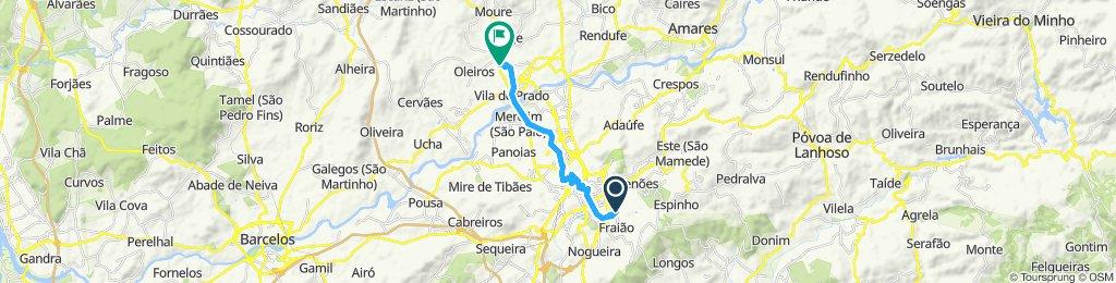 Moderate route in Vila Verde