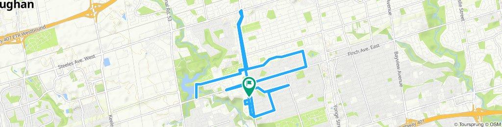 Easy ride in Toronto