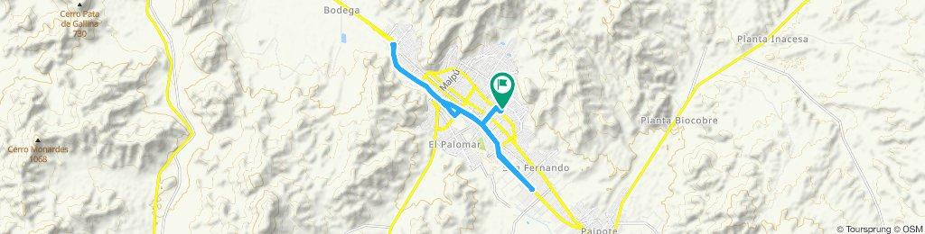 Ruta relajada en Copiapó
