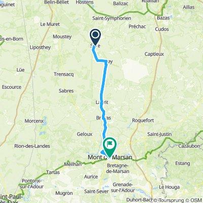 Easy ride in Mont-de-Marsan