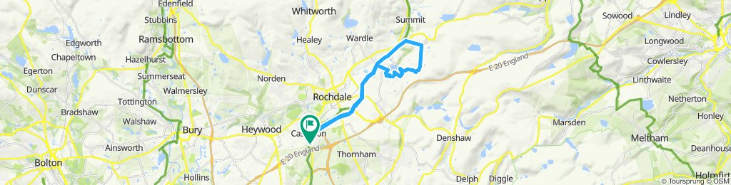 Steady ride in Rochdale