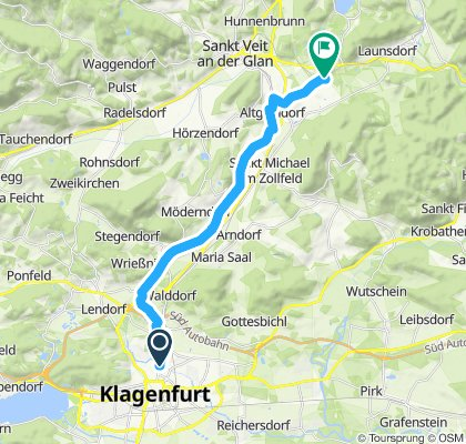 Moderate Route in St. Georgen am Längsee