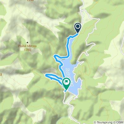 Cheile Tătarului - Barajul Bolboci (mal vestic)