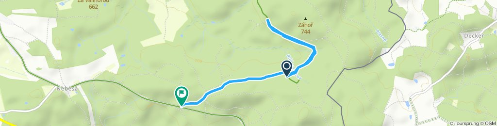 Moderate Route in Aš