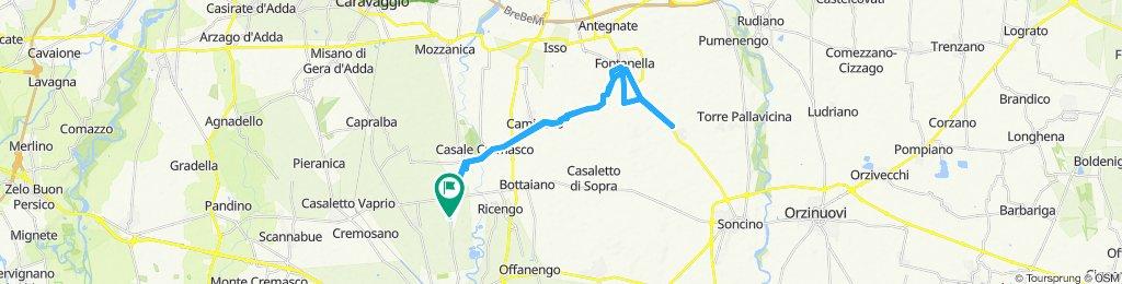 Slow ride in Pianengo,Fontanella,Gallignano