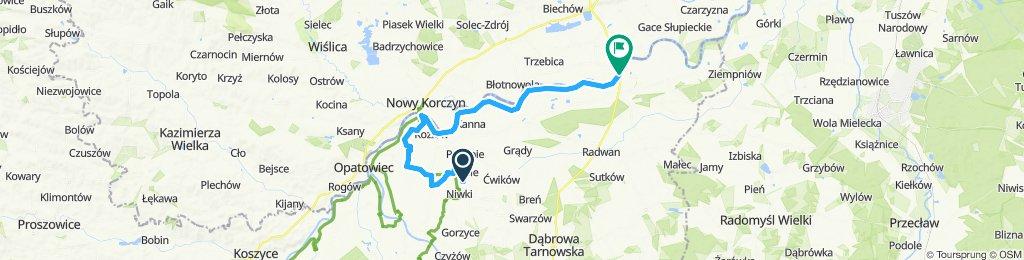 Zalipie-BursztynowySzlak-WiślanaTrasaRowerowa-Szczucin