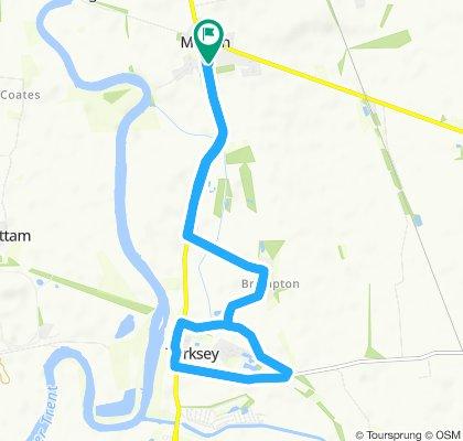 Moderate route in Gainsborough