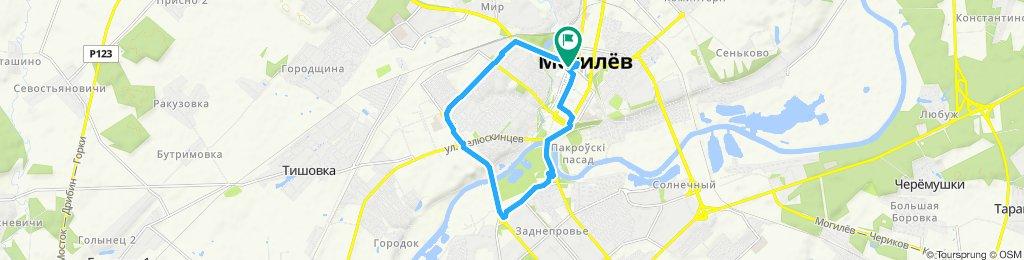 Slow ride in Могилев