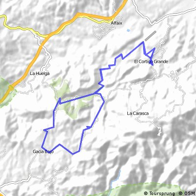 Cortijo Grande round in the moumtains