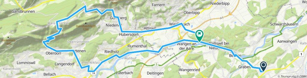 Bützberg-Günsberg-Balmberg-Weissenstein-Oberdorf-Feldbrunnen-Walliswil Bipp