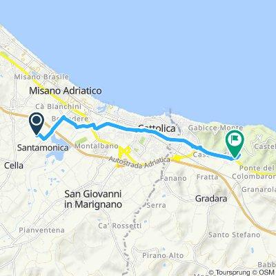Gemütliche Route in Misano Adriatico