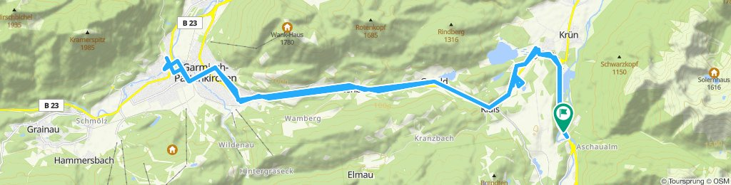Sightseeing in Partenkirchen und in Garmisch