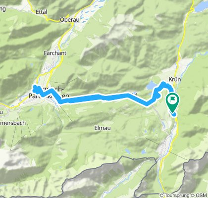 Sightseeing in Partenkirchen und in Garmisch