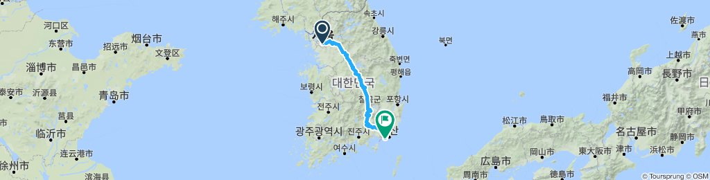4 Rivers Seoul to Busan