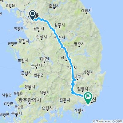 4 Rivers Seoul to Busan