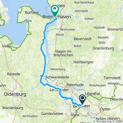 Bremen - Bremerhaven