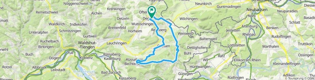 Degernau - Wannenberg - Küssaburg