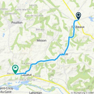 Slow ride in Labatut