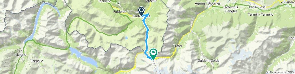 UMBRAILPASS- PASSO DELLO STELVIO (por Santa Maria Val Müstair)