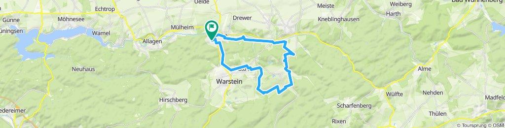 Gemütliche Route in Warstein