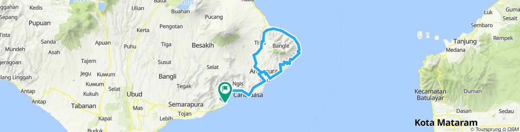 Bali, Indonesia, Padangbai - Amed, PP, 106 km