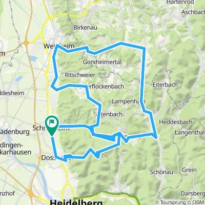 Schriesheim 70km - 1.300Hm