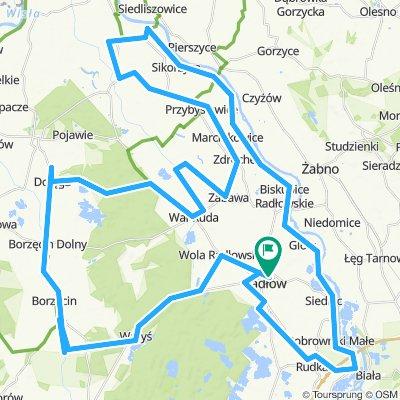 Radlow-Dolega-DunajecVelo-90 km