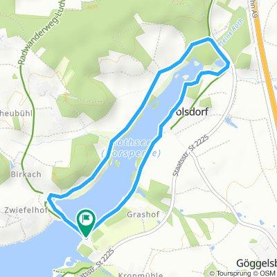 Rundweg um die Rothsee-Vorsperre