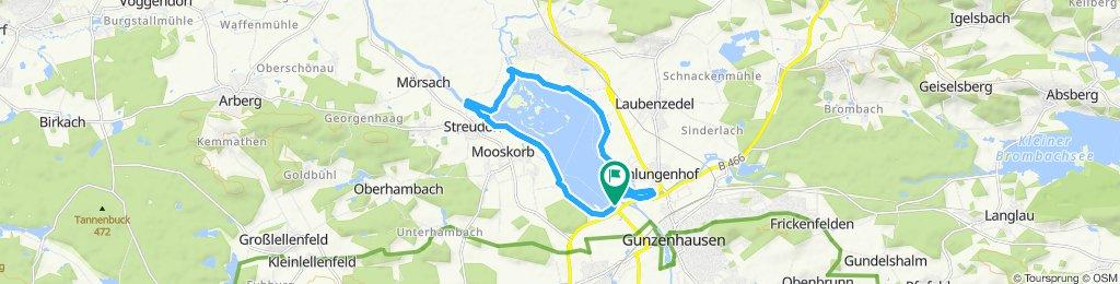Radweg rund um den Altmühlsee