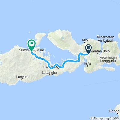 Flores-Sumbawa-Lombok-Bali, Indonesia, 12 Etappen, 08, Dompu -Sumbawa Besar, 192 km