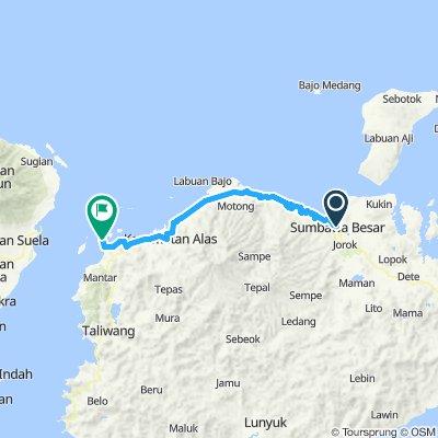 Flores-Sumbawa-Lombok-Bali, Indonesia, 12 Etappen, 09, Sumbawa Besar, 192 km