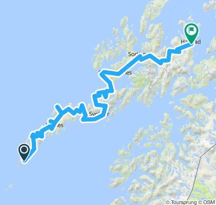Tromso (ferry) Harstad (bike) A (ferry) Bodo