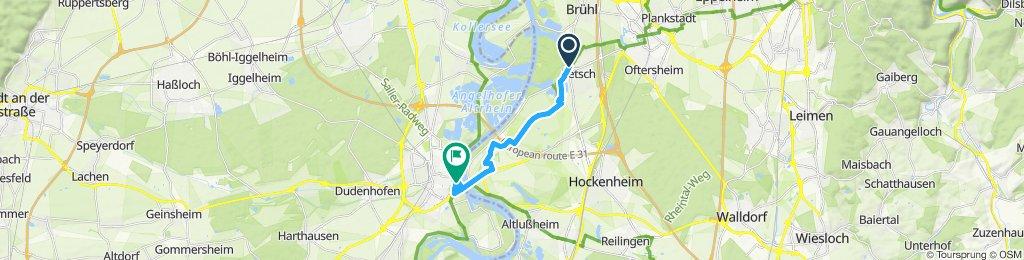 Ketsch - Speyer