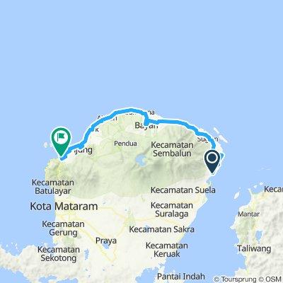 Flores-Sumbawa-Lombok-Bali, Indonesia, 12 Etappen, 10, Air Manis - Bangsal, 117 km